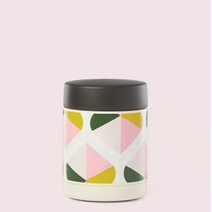 kate spade geo spade insulated food container nwt